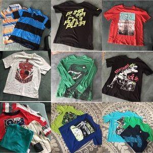 Huge Bundle of 47 Big Kid Clothes
